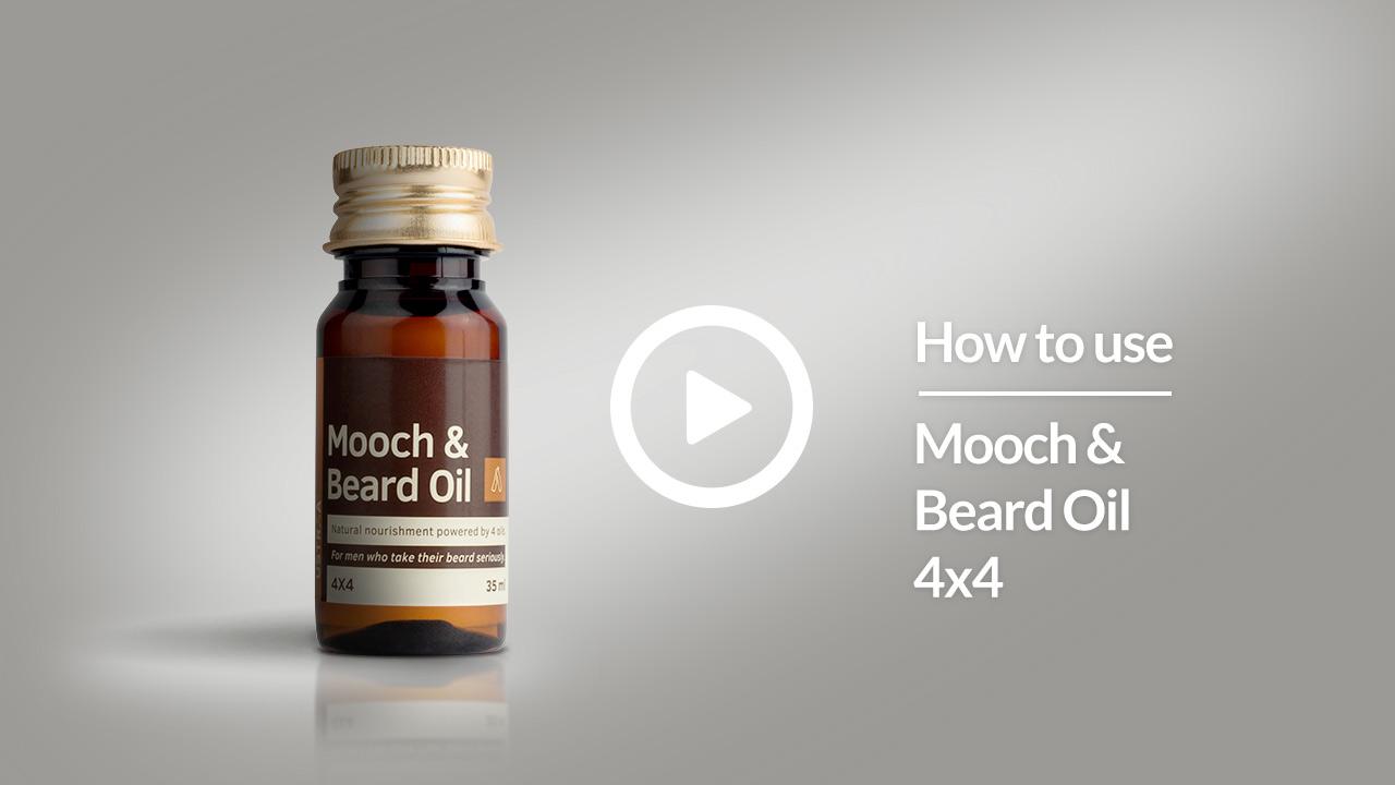 How To Use Ustraa Mooch & Beard Oil