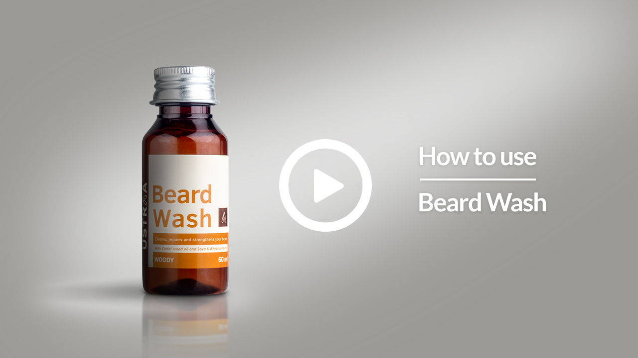 A Guide To Use Ustraa Beard Wash